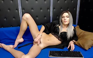 Gorgeous Shemale With Massive Rod Poses