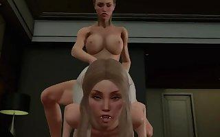 futa fucks female. 3d shemale games(1)